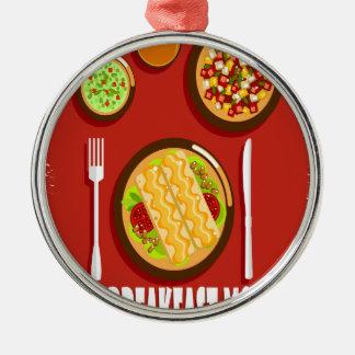 Hot Breakfast Month February - Appreciation Day Metal Ornament