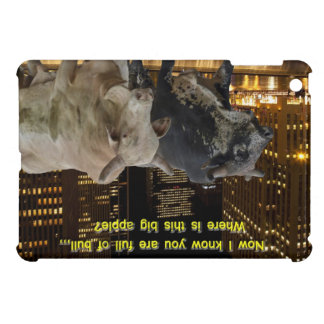 Hot Bulls In The City Case For The iPad Mini
