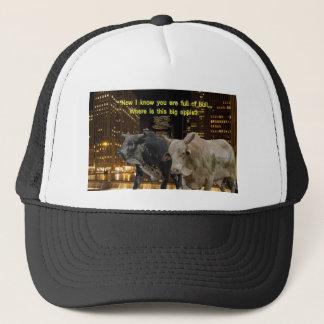 Hot Bulls In The City Trucker Hat
