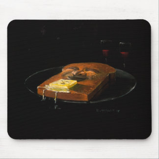 Hot Buttered Toast Mouse Pad Mouse Pads