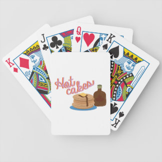 Hot Cakes Bicycle Playing Cards