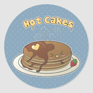 Hot Cakes Classic Round Sticker