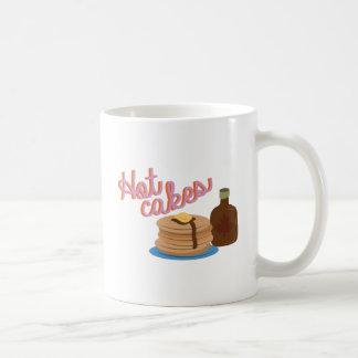 Hot Cakes Classic White Coffee Mug