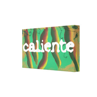 Hot Caliente Jalapeno Peppers Canvas Print