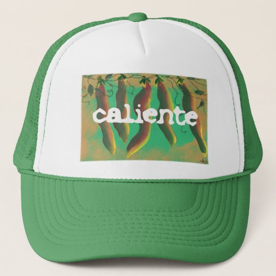 Hot Caliente Jalapeno Peppers Trucker Hat