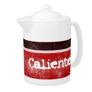 Hot Caliente Tea Pot