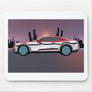 Hot Camero Mouse Pad