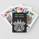 Hot Car Auto Racing Playing Cards