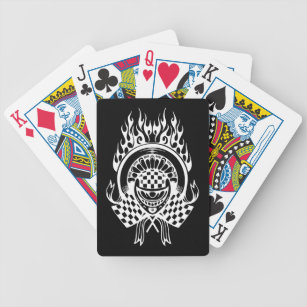 muscle car playing cards zazzle Rare Street Race Cars hot car auto racing playing cards