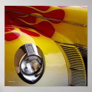 Hot Car print