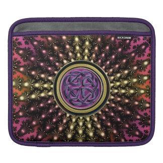 Hot Celtic Fractal Mandala Sleeve For iPads