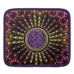 Hot Celtic Fractal Mandala with Knot Sleeve For iPads