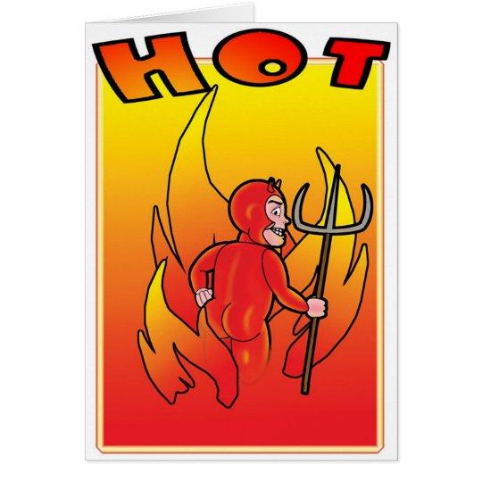 Hot & Cheeky Card