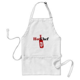 Hot Chef Adult Apron