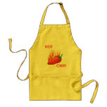 hot chef apron