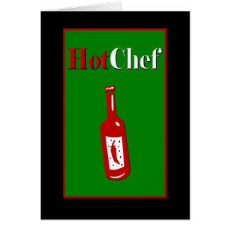 Hot Chef Card