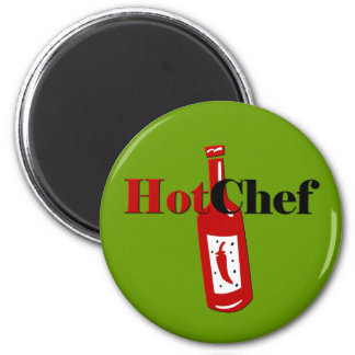 Hot Chef Magnet