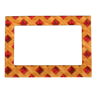 Hot Cherry Pie Magnetic Picture Frame