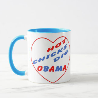 Hot Chicks Dig Obama Souvenir Mug