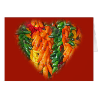 Hot Chile Peppers Card