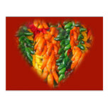 Hot Chile Peppers Postcard