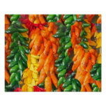 Hot Chile Peppers Print