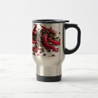 Hot Chili café 15 Oz Stainless Steel Travel Mug