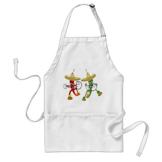 Hot Chili Contest Adult Apron