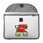 Hot Chili Pepper and Onion Graphic MacBook Pro Sleeves