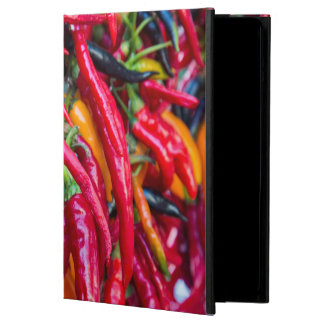 Hot Chili Peppers At Farmers Market In Madison iPad Air Cases