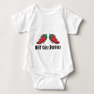 Hot Chili Peppers Baby Bodysuit