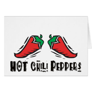Hot Chili Peppers Card