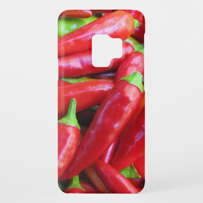 Hot Chili Peppers Galaxy S9 Case
