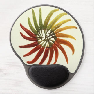 Hot Chili Peppers Gel Mouse Mats