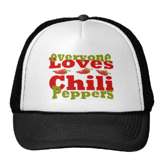 hot chili peppers trucker hat