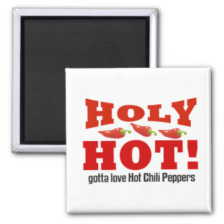 hot chili peppers magnet