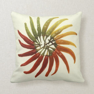 Hot Chili Peppers Throw Pillows