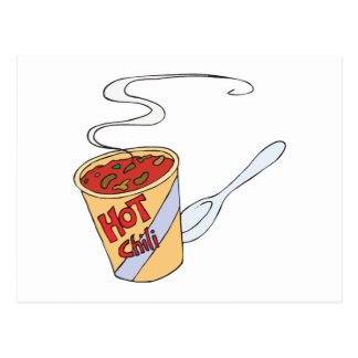 hot chili post card