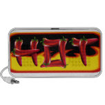 Hot Chilies Text Travel Speaker