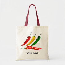 hot Chillies Tote Bag
