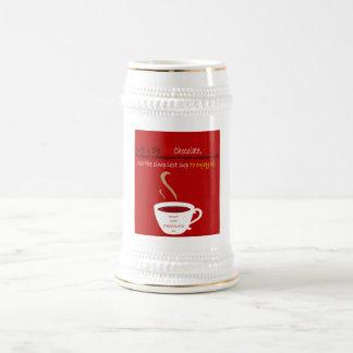 Hot Chocolate 18 Oz Beer Stein