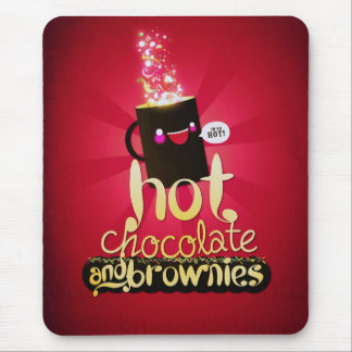 Hot Chocolate and Brownies! Mouse Pad