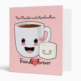 Hot Chocolate and Marshmallow Binder