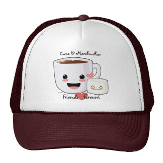 Hot Chocolate and Marshmallow Hat