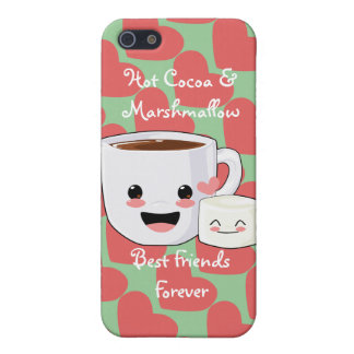 Hot Chocolate and Marshmallow iPhone 4 Case