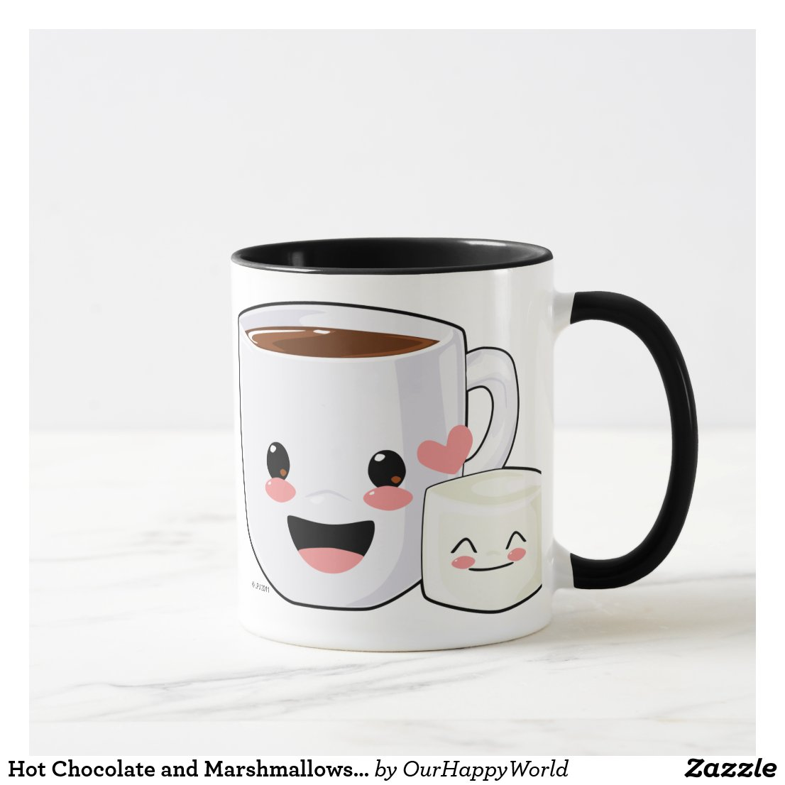 Hot Chocolate and Marshmallows Mug