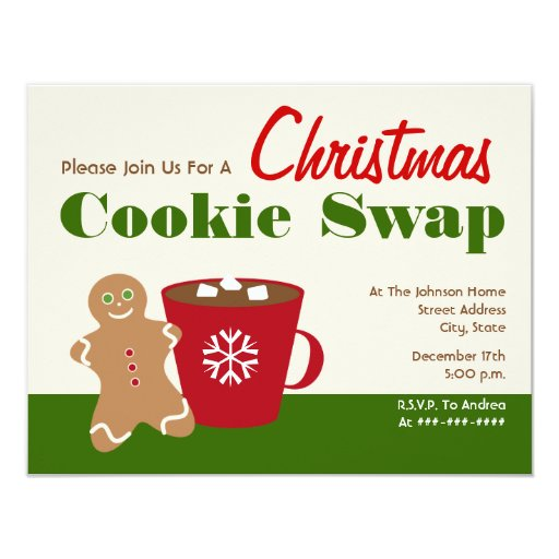 Cookie Swap Invitations was best invitations example