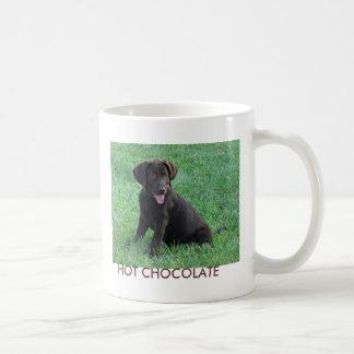 HOT CHOCOLATE CLASSIC WHITE COFFEE MUG