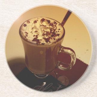 hot chocolate coaster