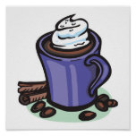 hot chocolate cocoa poster